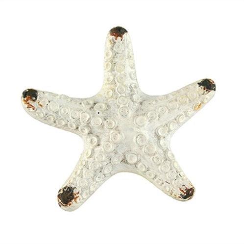 White Starfish Drawer Pull