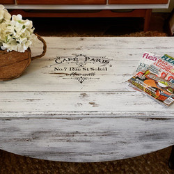 Cafe Paris Coffee Table_#frenchcountry #paris #coffeetable #homedecor #furniture #funstuff #chicdeco