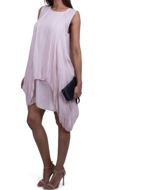 Silk Layered Dress
