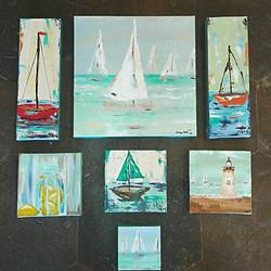 New Arrivals Local Artist Tilly D_#art #localart #beach #coastalliving #comesailaway #beachcottage
