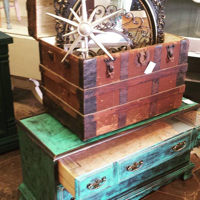 Cool Items_#homedecor #furniture #coolstuff #eclectic #600blockstpete #instaBURG #igersstpete #trunk