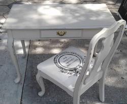 Chair_#home #homedecor #desk #vanity #frenchcottage