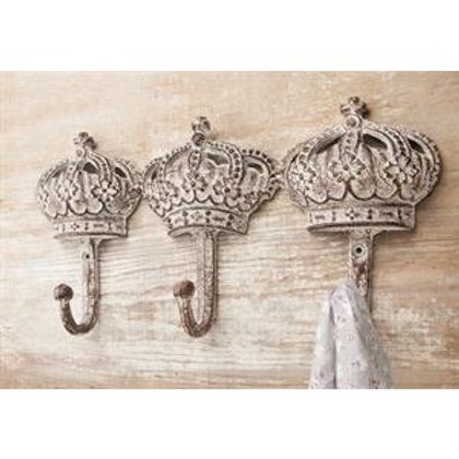 CHATEAU CHIC 3 CROWN WALL HOOK