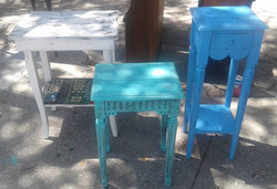 Accent Tables_#accenttables #homedecor #paintedfurniture #coolfinds