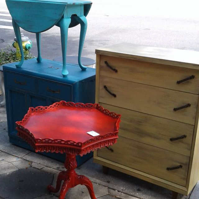Embrace Color!_#home #homedecor #furniture #repurposed #custompainted
