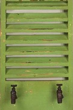 GREEN SHUTTER WALL HOOK