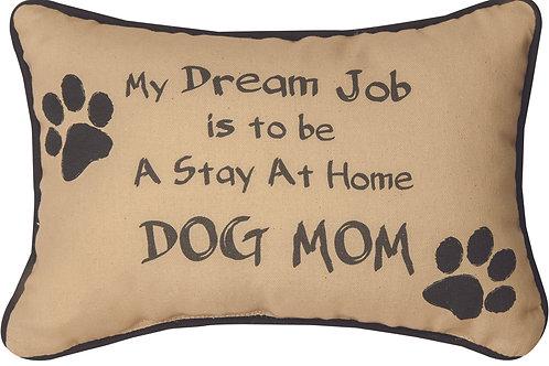 DOG MOM PILLOW