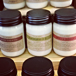 Home Aromatherapy Soy Candles_#cherrypipetobacco #oakmoss #homefragrance #soycandles