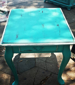Coastal Accent Table_#homedecor #furniture #iloveturquoise #igersstpete #home