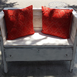 Dresser into Bench_#repurpose #bench #oldtonew #gettincreative