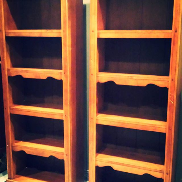 Matching Bookcases _#homedecor #furniture #funstuff #600blockstpete #instaBURG #igersstpete_