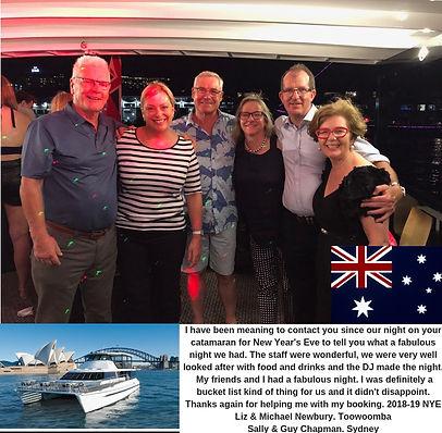 Nye Cruise Sydney Harbour