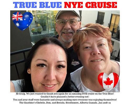 True Blue NYE Cruise Sydney Harbour