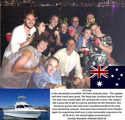 Private NYE Cruise Sydney Harbour