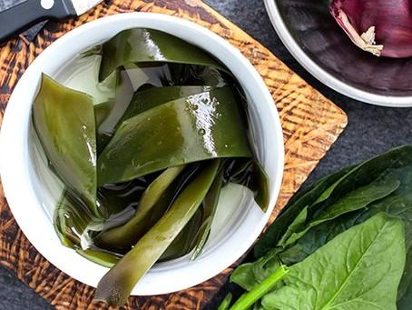 Food as Medicine: Kombu Seaweed Salad