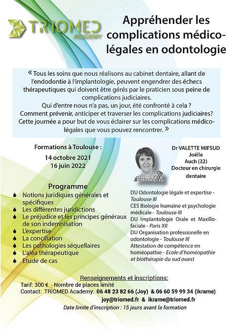 Programme formation medico-legal - 2021-
