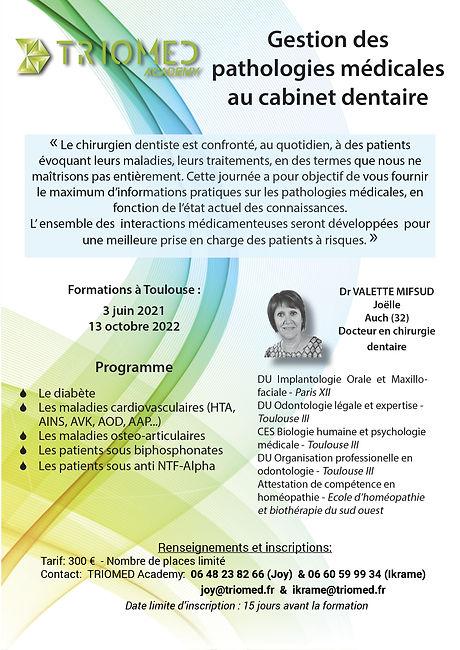 Programme formation  pathologies médical
