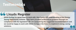ESOS-Energy Testimonal Lloyds Regist