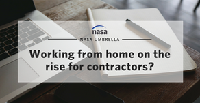 Working from home on the rise for contractors?