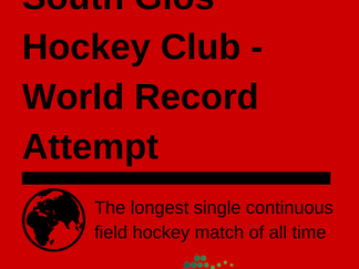 South Glos Hockey Club Attempting World Record