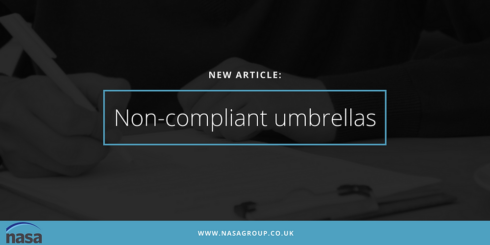 Non-compliant umbrella companies