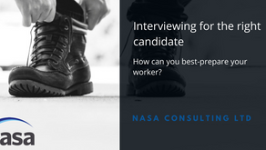 Interviewing for the right candidate