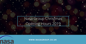 Nasa Group opening hours this Festive period