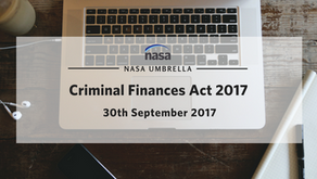 Criminal Finances Act 2017