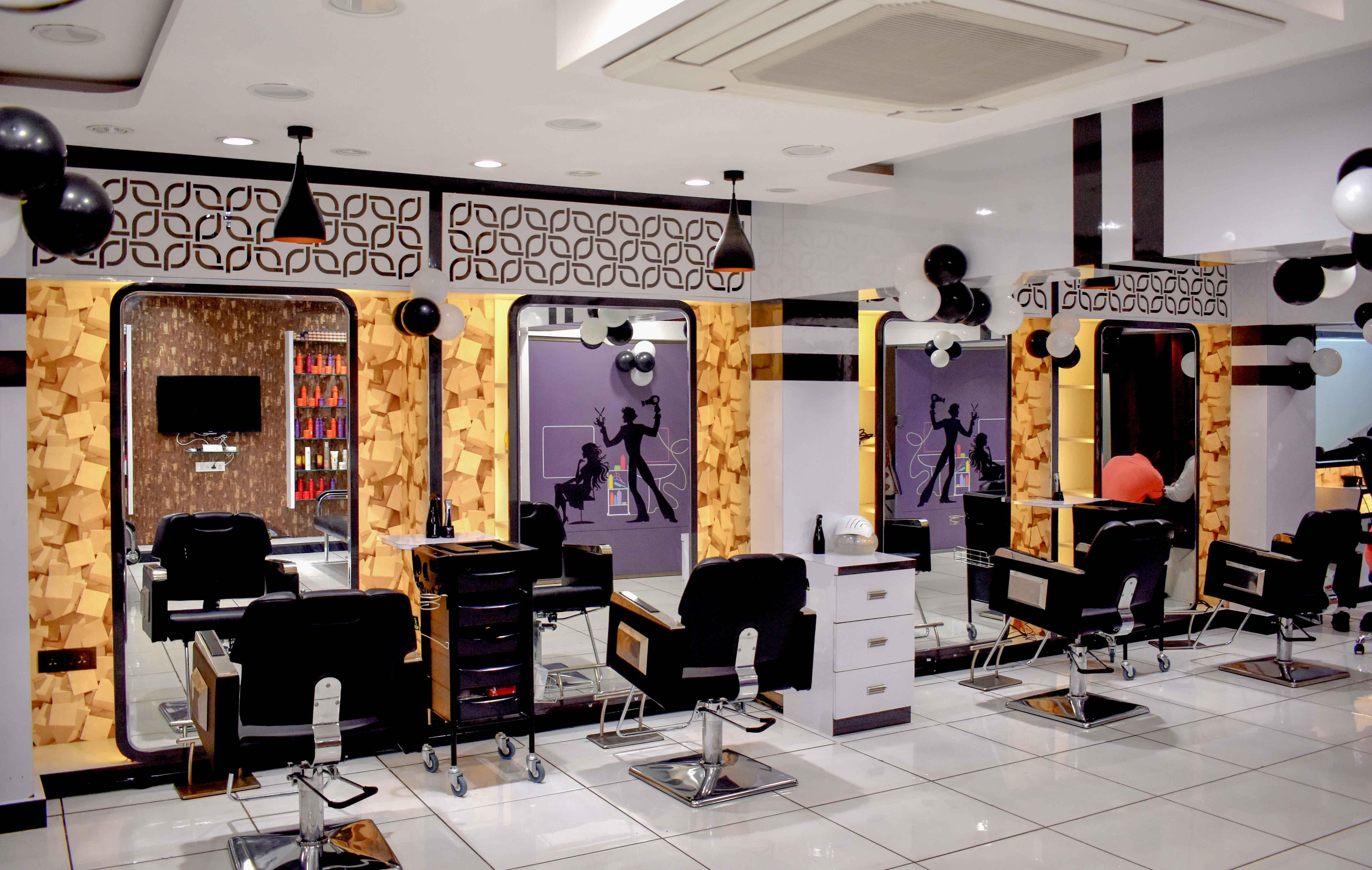 Hair cutting area