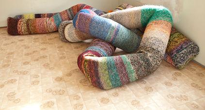 Knittinghose, since 2013 (wool, 2700cm)