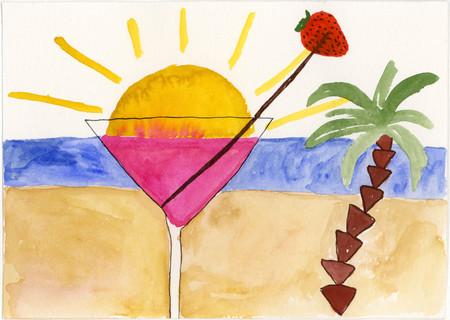 130-Drink i solnedgang