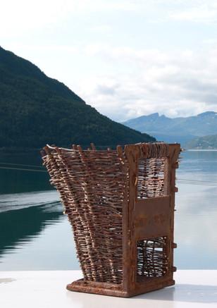 Weaved basket - Flechtkorb - Flettekurv