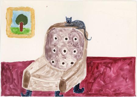 076-En katt