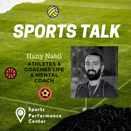 Hany Nabil - Athletes Life coaching