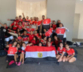 Egyptian National Dodgeball Team 2019