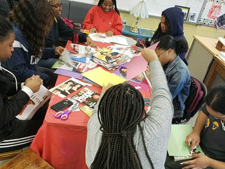 Vision Board Workshop at The U School