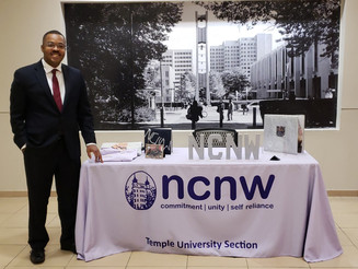 DonCARES Founder Named Mr. NCNW Temple Section