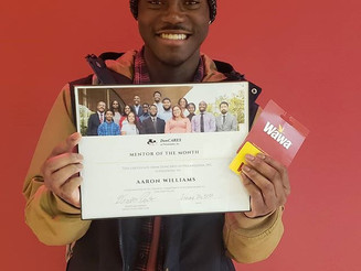 Mentor of the Month- Aaron Williams
