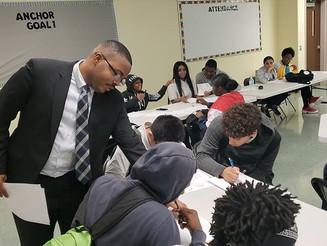 DonCARES hosts professional development for high school students at Fels High School