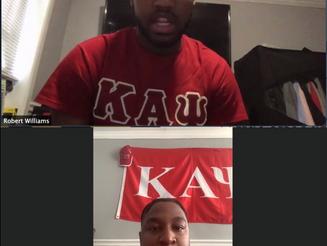 Sankofa Speaker Series: Kappa Alpha Psi, Fraternity, Inc. Lambda Chapter