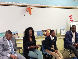 DonCARES Speaks at Kenderton Elementary School
