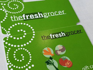 DonCARES Grants One-Hundred Dollar Fresh Grocer Gift Card to Family in Need