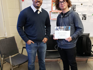Mentee of the Month- New Series