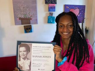 Third Annual Sadie T.M. Alexander Social Justice Essay Contest Winners