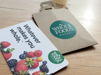 DonCARES grants Whole Foods Gift Cards to Families in Need