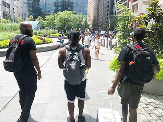 DonCARES & S.M.O.O.T.H Inc. Temple Section host third annual hydration walk for the homeless