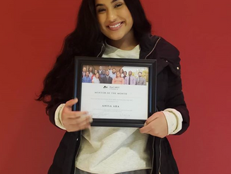 Mentor of the Month- Anisa Ara