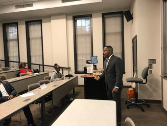 DonCARES Speaks at Youth Action, Inc.