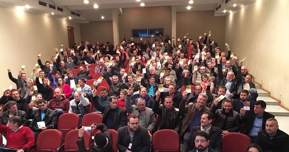 As assembleias gerais dos Coredes tratam da Consulta Popular 2017/2018 - Foto: Divulgação/SPGG