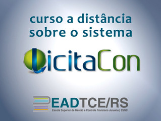 TCE-RS lança curso EAD sobre sistema LicitaCon